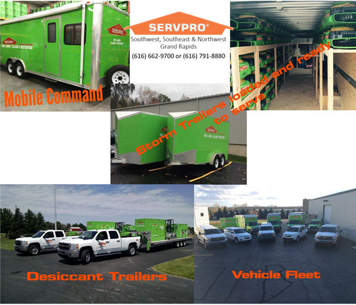 Commercial No restoration need is too big for SERVPRO® of Southwest Grand Rapids